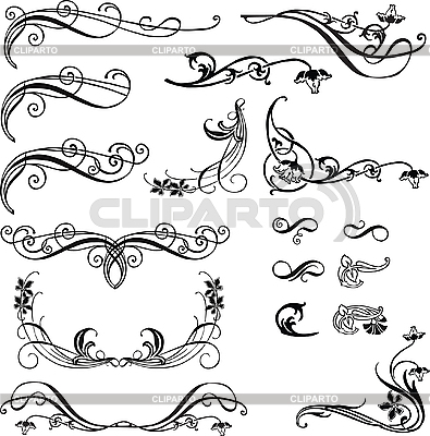 Elements of decor | Stock Vector Graphics |ID 3121012