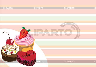 蛋糕   向量插图  ID 3124495