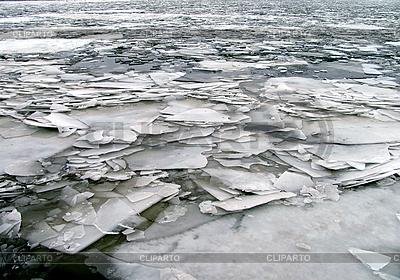 Broken ice on river | High resolution stock photo |ID 3125615
