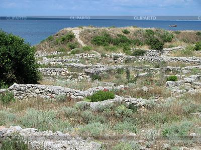 Ruiny starożytnego miasta | Foto stockowe wysokiej rozdzielczości |ID 3125645