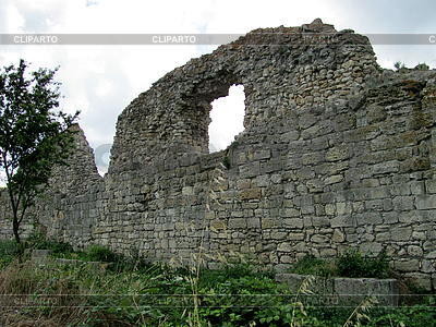 Ruins of the ancient town   High resolution stock photo  ID 3125679