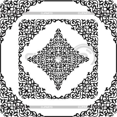 Arabic ornamental pattern   Stock Vector Graphics  ID 3139779
