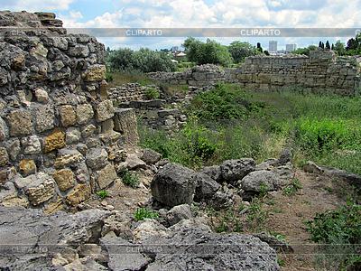 Ruinas de la antigua ciudad de Quersoneso | Foto de alta resolución |ID 3164878