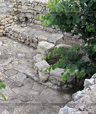 Ruins of the ancient city of Chersonesus   High resolution stock photo  ID 3165419