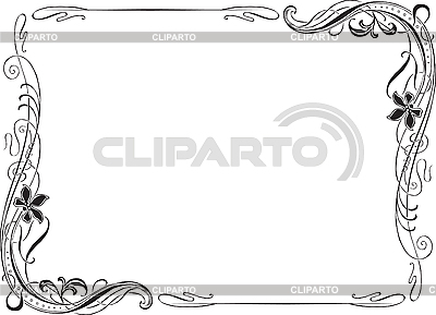 Frame Ornate Art Nouveau | Stock Vector Graphics |ID 3196951