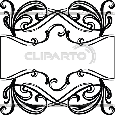 Frame with filigreen ornament | Stock Vector Graphics |ID 3262856