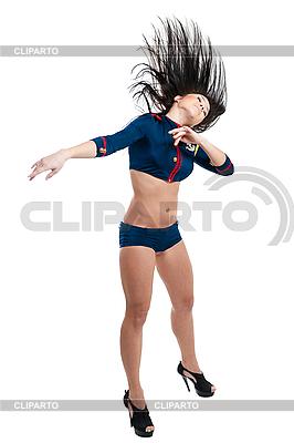 선원 유니폼 클럽 댄서 여자 | 높은 해상도 사진 |ID 3171129