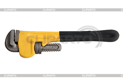 Adjustable wrench   High resolution stock photo  ID 3124453