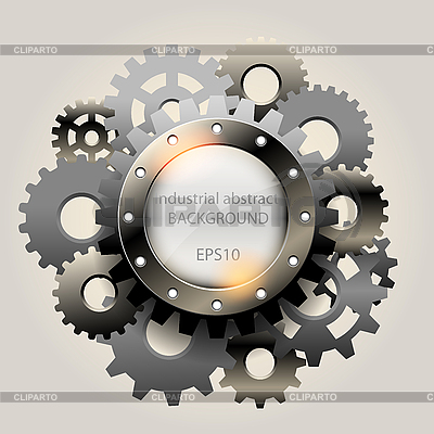 Industrial abstract background | Stock Vector Graphics |ID 3183576