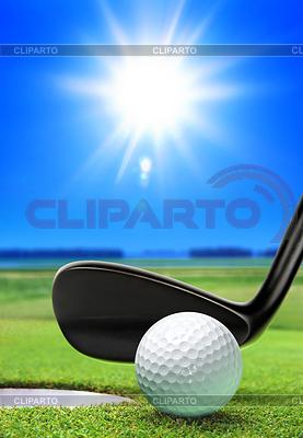 Golfball und natürlich   Foto mit hoher Auflösung  ID 3223056