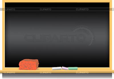 Schultafel mit kreide clipart  Schultafel | Stock Fotos und Vektorgrafiken | CLIPARTO