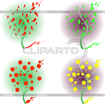 Trees | Stock Vector Graphics |ID 3136336
