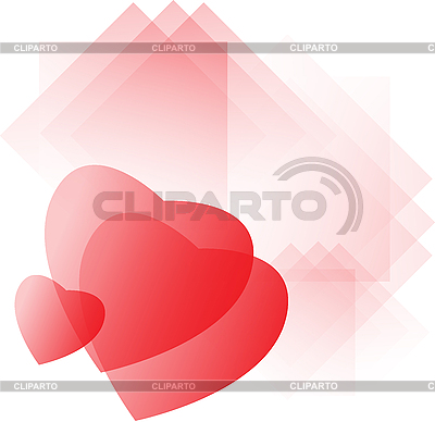 Valentine`s day card with hearts   Stock Vector Graphics  ID 3139340