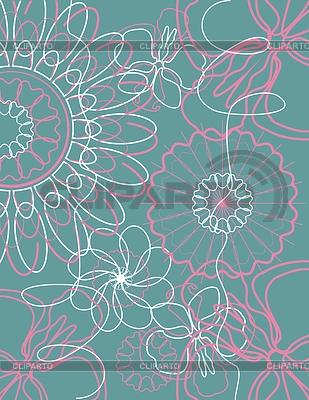 花卉背景 | 向量插图 |ID 3218237