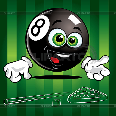 Funny Ball Pool | Klipart wektorowy |ID 3125978