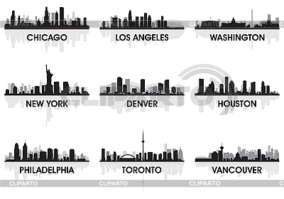 City skylines | Stock Vector Graphics |ID 3126032