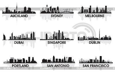 City skylines | Stock Vector Graphics |ID 3126034