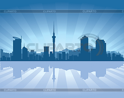 Auckland skyline | Stock Vector Graphics |ID 3126042