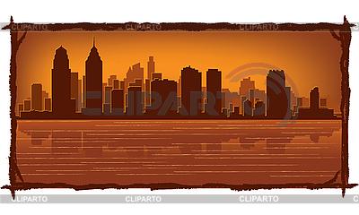 Philadelphia skyline | Stock Vector Graphics |ID 3126056