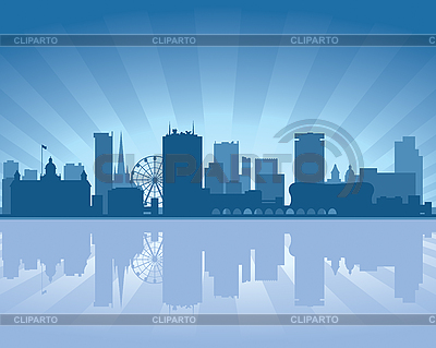 Birmingham skyline | Stock Vector Graphics |ID 3126058