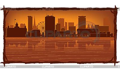 Birmingham skyline | Stock Vector Graphics |ID 3126060