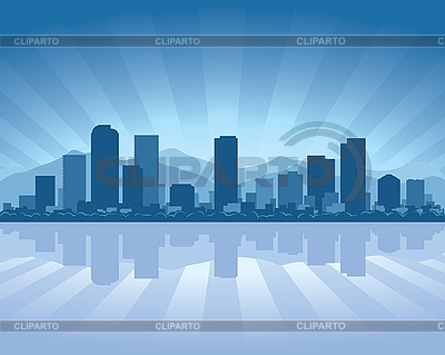 Denver skyline | Stock Vector Graphics |ID 3126062