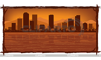 Denver skyline | Stock Vector Graphics |ID 3126064