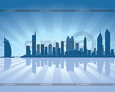 Dubai skyline | Stock Vector Graphics |ID 3126066