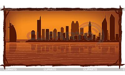 Dubai skyline | Stock Vector Graphics |ID 3126068