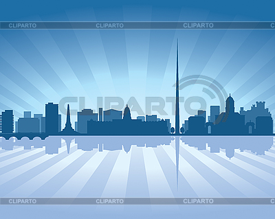 Dublin skyline | Stock Vector Graphics |ID 3126070