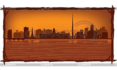 Dublin skyline | Stock Vector Graphics |ID 3126072