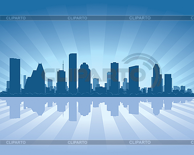 Houston skyline | Stock Vector Graphics |ID 3126074