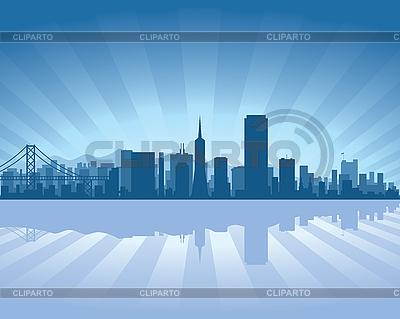 San Francisco skyline | Stock Vector Graphics |ID 3126094