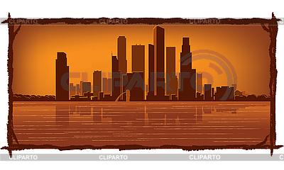 Singapore skyline | Stock Vector Graphics |ID 3126100