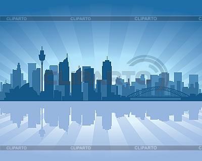 Sydney skyline | Stock Vector Graphics |ID 3126102