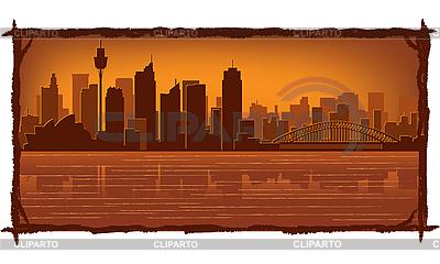 Sydney skyline | Stock Vector Graphics |ID 3126104