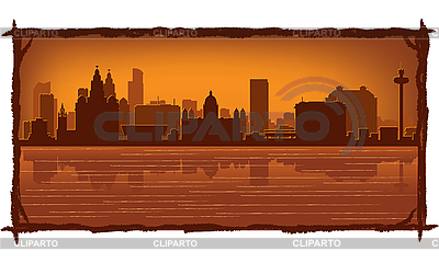 Liverpool skyline | Stock Vector Graphics |ID 3126407