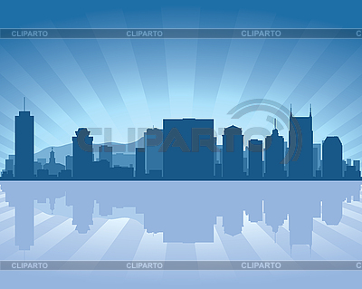 Nashville skyline | Stock Vector Graphics |ID 3134663
