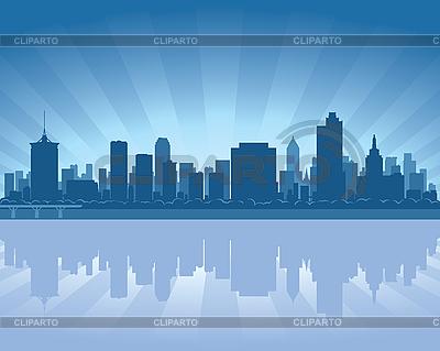 Tulsa skyline   Stock Vector Graphics  ID 3136717