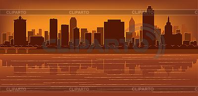 Tulsa skyline | Stock Vector Graphics |ID 3136719