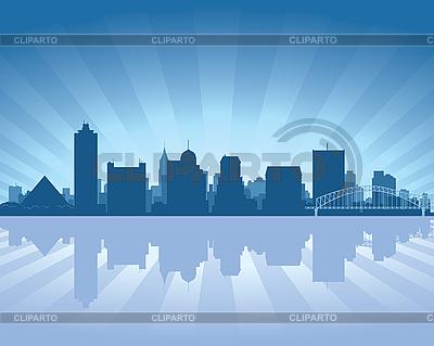 Memphis skyline | Stock Vector Graphics |ID 3136721