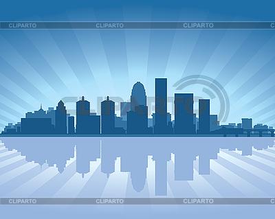 Louisville horizonte | Ilustración vectorial de stock |ID 3139148