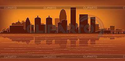 Louisville skyline | Stock Vector Graphics |ID 3139150