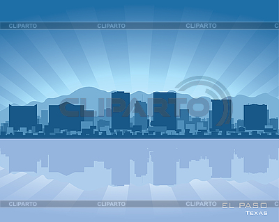 El Paso skyline | Stock Vector Graphics |ID 3175892