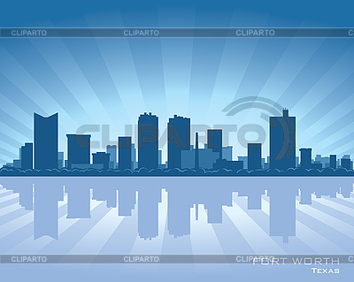 Fort Worth skyline | Stock Vector Graphics |ID 3175894