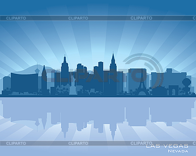 Las Vegas, Nevada skyline | Stock Vector Graphics |ID 3175898