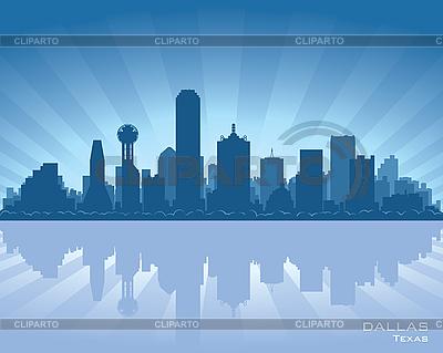 Dallas skyline | Stock Vector Graphics |ID 3179093