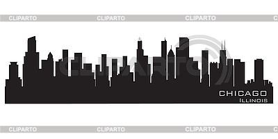 Chicago skyline | Stock Vector Graphics |ID 3201331