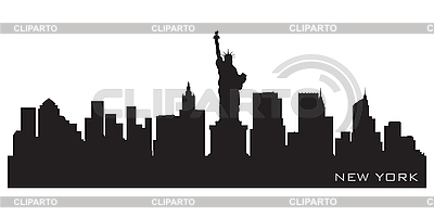 New York skyline | Stock Vector Graphics |ID 3201333