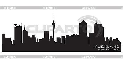 Auckland skyline | Klipart wektorowy |ID 3201337